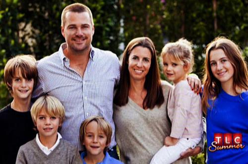 クリスオドネルの妻と5人の子供たち