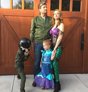 グレイズアナトミーのエイプリル役サラ・ドリューと結婚している夫と子供